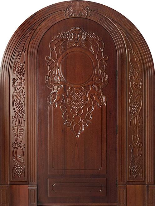 Wine-Cellar-Collection Red Oak Wood WineCellar Door - Single - DB-001