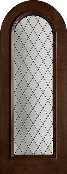 Wine-Cellar-Collection Mahogany Wood WineCellar Door - Single - DB-123DG