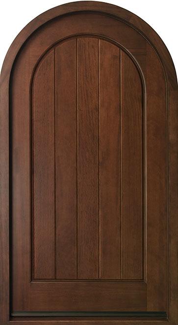 Wine-Cellar-Collection Mahogany Wood WineCellar Door - Single - DB-123
