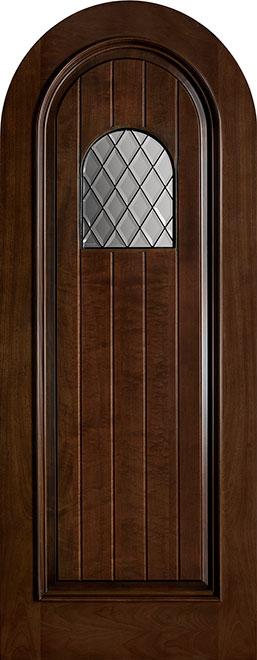 Wine-Cellar-Collection Mahogany Wood WineCellar Door - Single - DB-501DG