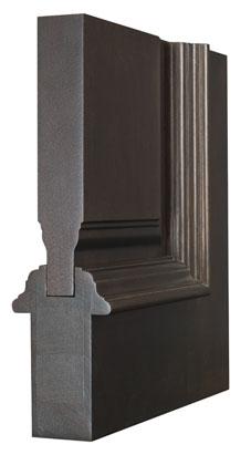 Door Corner - Wood Entry Door