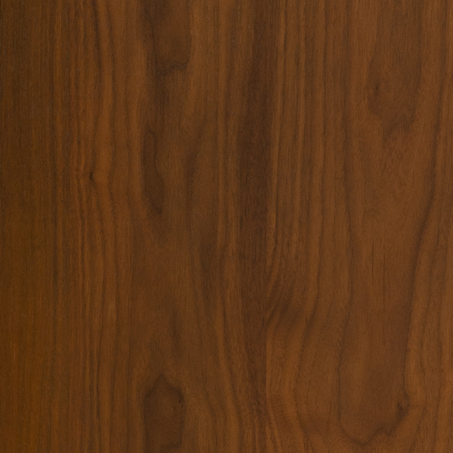 shown in walnut wood with natural walnut finish