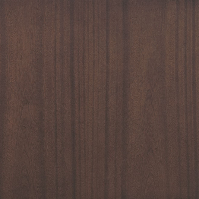 Mahogany (Regular Cut) Wood with Chocolate Finish