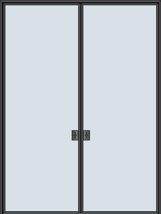 Custom Pivot   Door Example, - STL-W1-DD 6