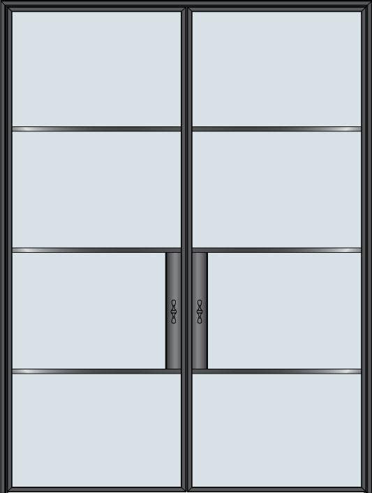 Custom Pivot   Door Example, - STL-W4-DD 7