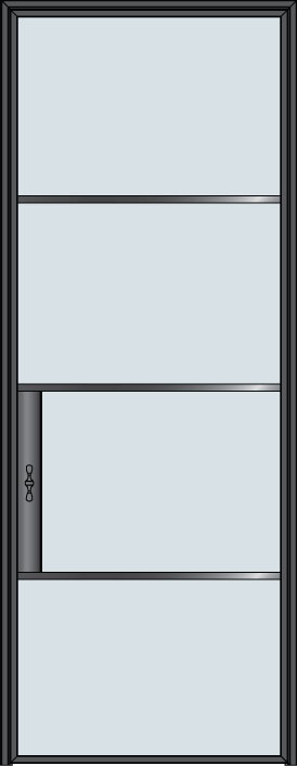 Custom Pivot   Door Example, - STL-W4 1