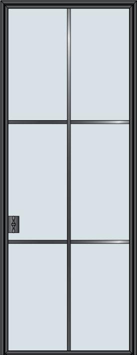 Custom Pivot   Door Example, - STL-W6 3