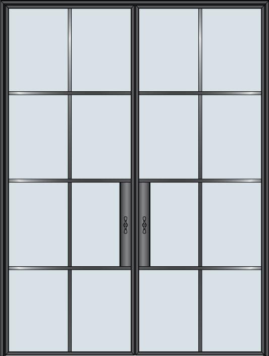 Custom Pivot   Door Example, - STL-W8-DD 11