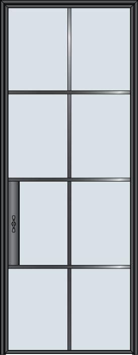 Custom Pivot   Door Example, - STL-W8 5