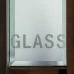 Clear Glass with Bevel