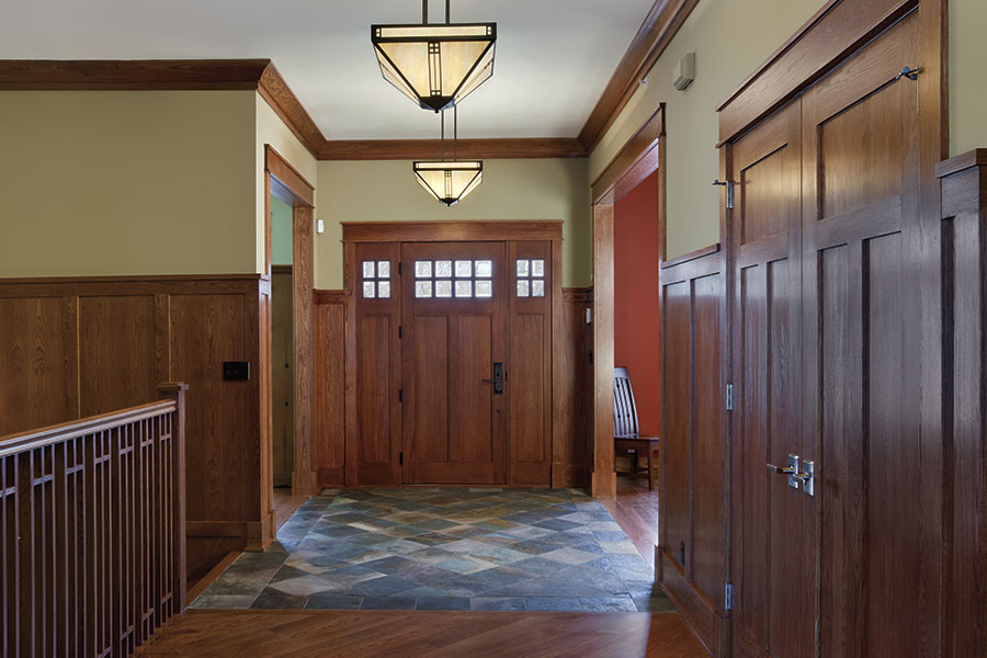 Craftsman Front Doors Collection