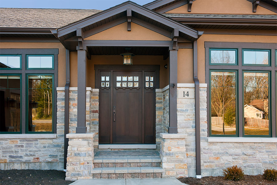 Craftsman Doors - Glenview Doors