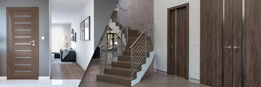 Solid Wood Entry, Interior Doors, Custom, In-Stock Modern, Traditional