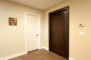 Traditional Interior Door.  Custom Interior Doors, 1 Raise Panel, Paint Grade and Stain Grade