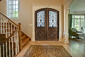 Heritage Entry Door.  Heritage Collection Custom Wood Front Entry Door DB-H002 DD F CST
