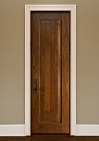 Traditional Interior Door.  Custom Interior 1 Raised Panel Solid Wood Door, Single DBI-1000A