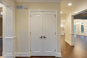 Paint Grade Interior Door.  Closet Double Door