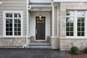 Classic Entry Door.  Front-Door, House Entrance DB-112PW