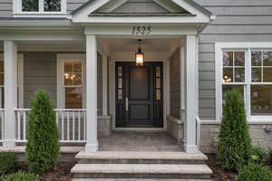 Classic Entry Door.  Classic Solid Wood (Euro Technology) Front Entry Door  DB-301PW 2SL