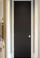 Modern Entry Door.  Custom Modern Interior Wood Door