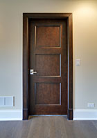 Traditional Interior Door.  Custom Classic Solid Wood Door - Closet Door