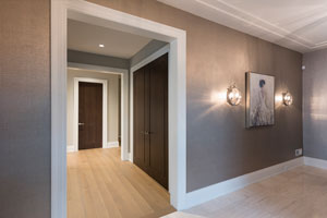 Modern Interior Door.  Foyer, Office Double Doors DBIM-MD1005