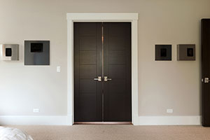 Modern Interior Door.  Custom Modern Interior Wood Double Door DBIM-VG9000 233