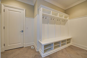 Paint Grade Interior Door.  Mudroom Door - Single Door