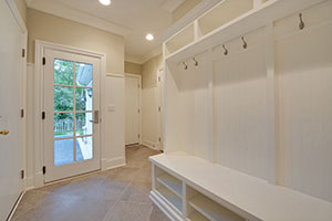 Paint Grade Interior Door.  Custom Mudroom French Door - Single Door