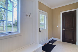 Traditional Interior Door.  Custom Classic Interior Solid Wood Door