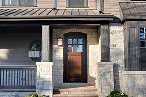 Classic Entry Door.  Classic Collection Solid Wood Front Entry Door
