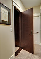 Traditional Interior Door.  Custom Interior Solid Wood Door, Single