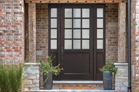 Classic Entry Door.    GD-012PW 2SL 43