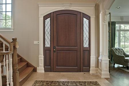Classic Entry Door.    GD-554PWDG 2SL 85