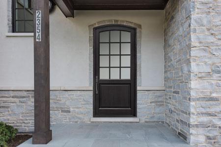 Classic Entry Door.  classic wood entry door, single DB-801PW