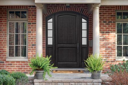 Classic Entry Door.    GD-802PW 2SL 102
