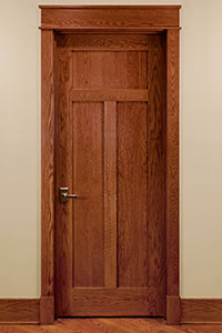 Traditional Interior Door.  122