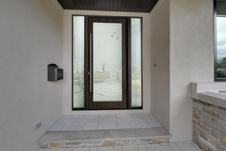 Modern  Door.   DB-EMD-001W 2SL
