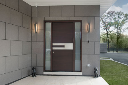 Modern Entry Door.  Modern Front Door DB-EMD-A4W 2SL
