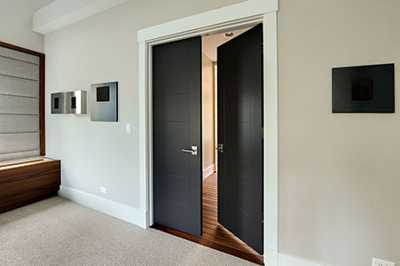 Modern Interior Door.  Custom Modern Interior Wood Double Door DBIM-80070 232