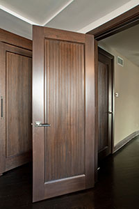 Traditional Interior Door.  Custom Interior Solid Wood Door Custom Ridges DBI-580 246