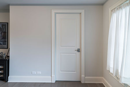 Paint Grade Interior Door.  47