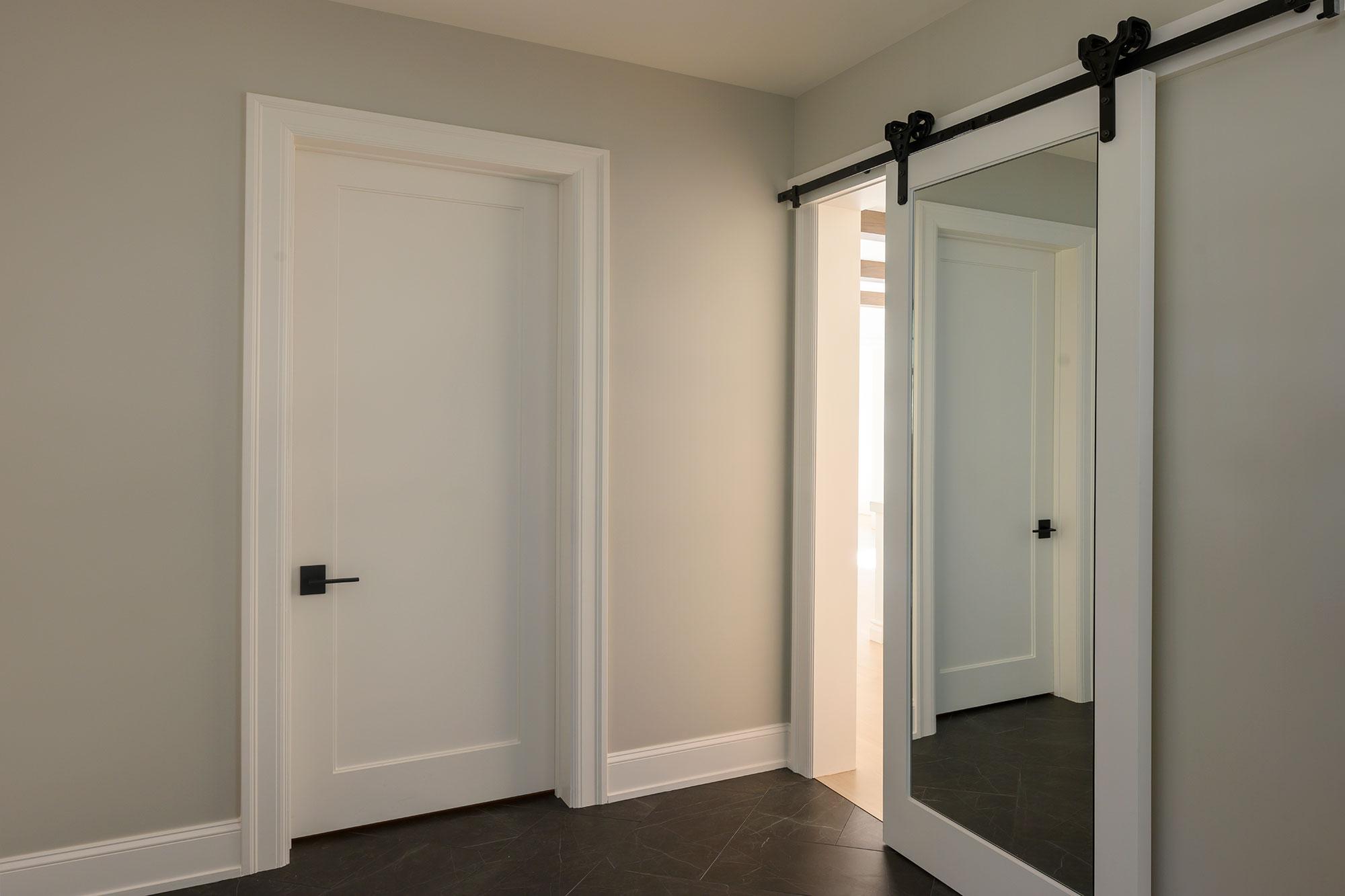Custom Wood Interior Doors | barn door  - Glenview Doors - Custom Doors in Chicago