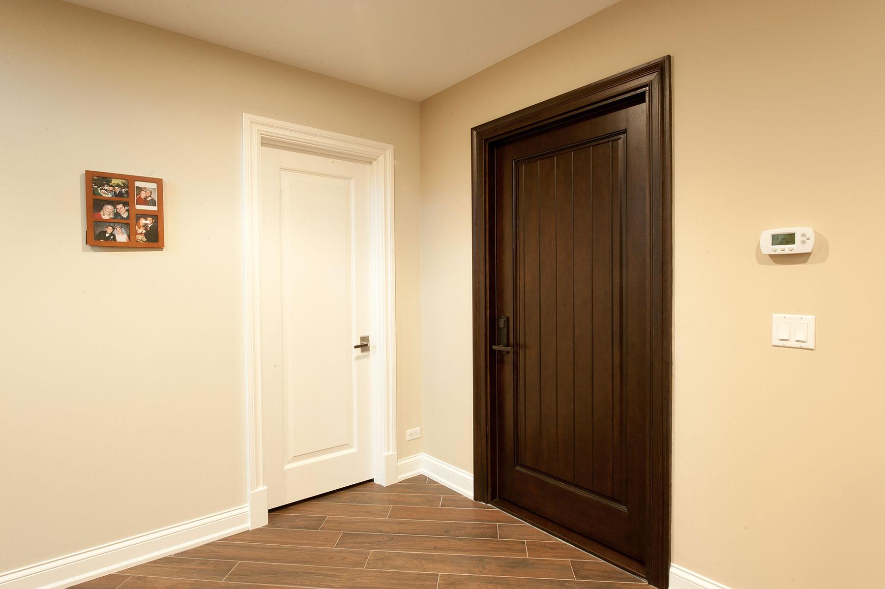Custom Wood Interior Doors | Custom Interior Doors, 1 Raise Panel, Paint Grade and Stain Grade  - Glenview Doors - Custom Doors in Chicago
