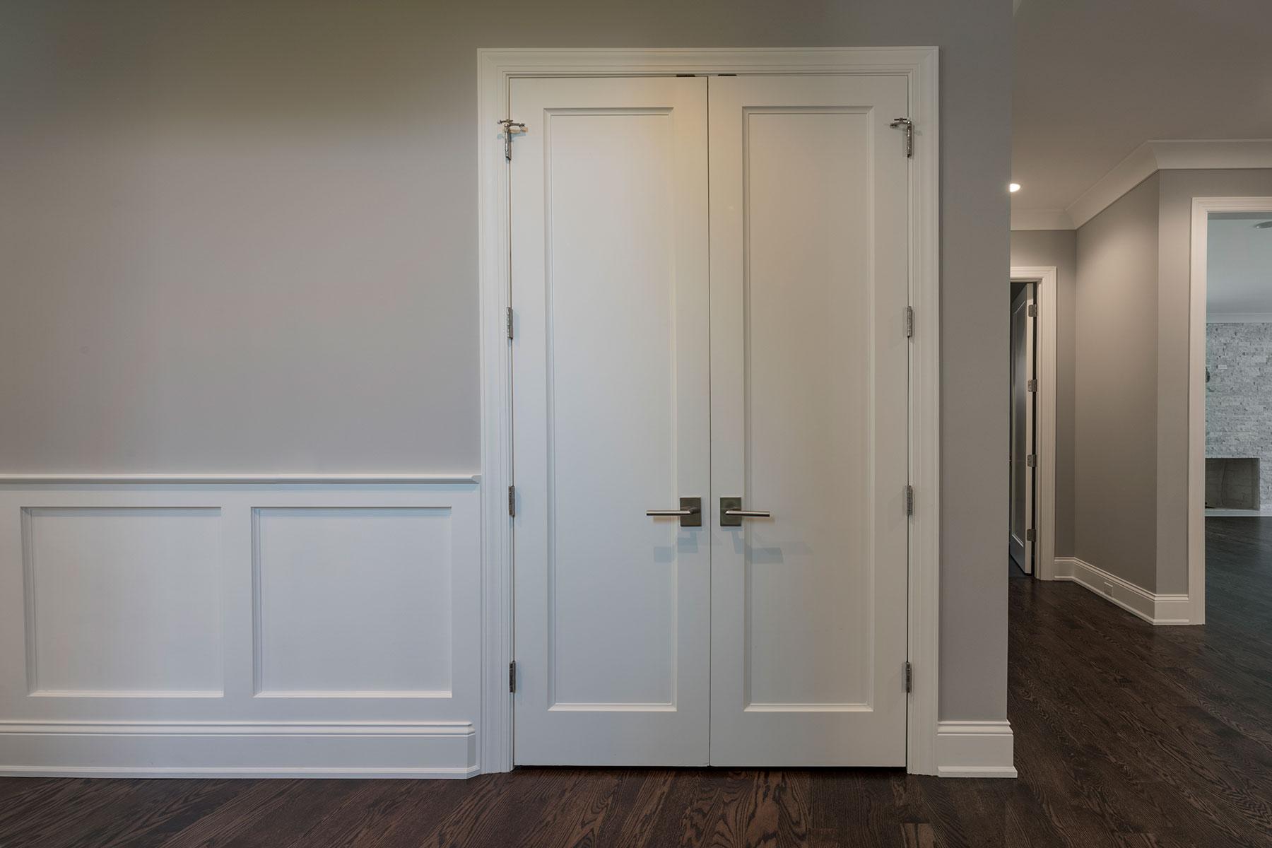 Custom Wood Interior Doors | Paint Grade Custom Interior Doors  - Glenview Doors - Custom Doors in Chicago