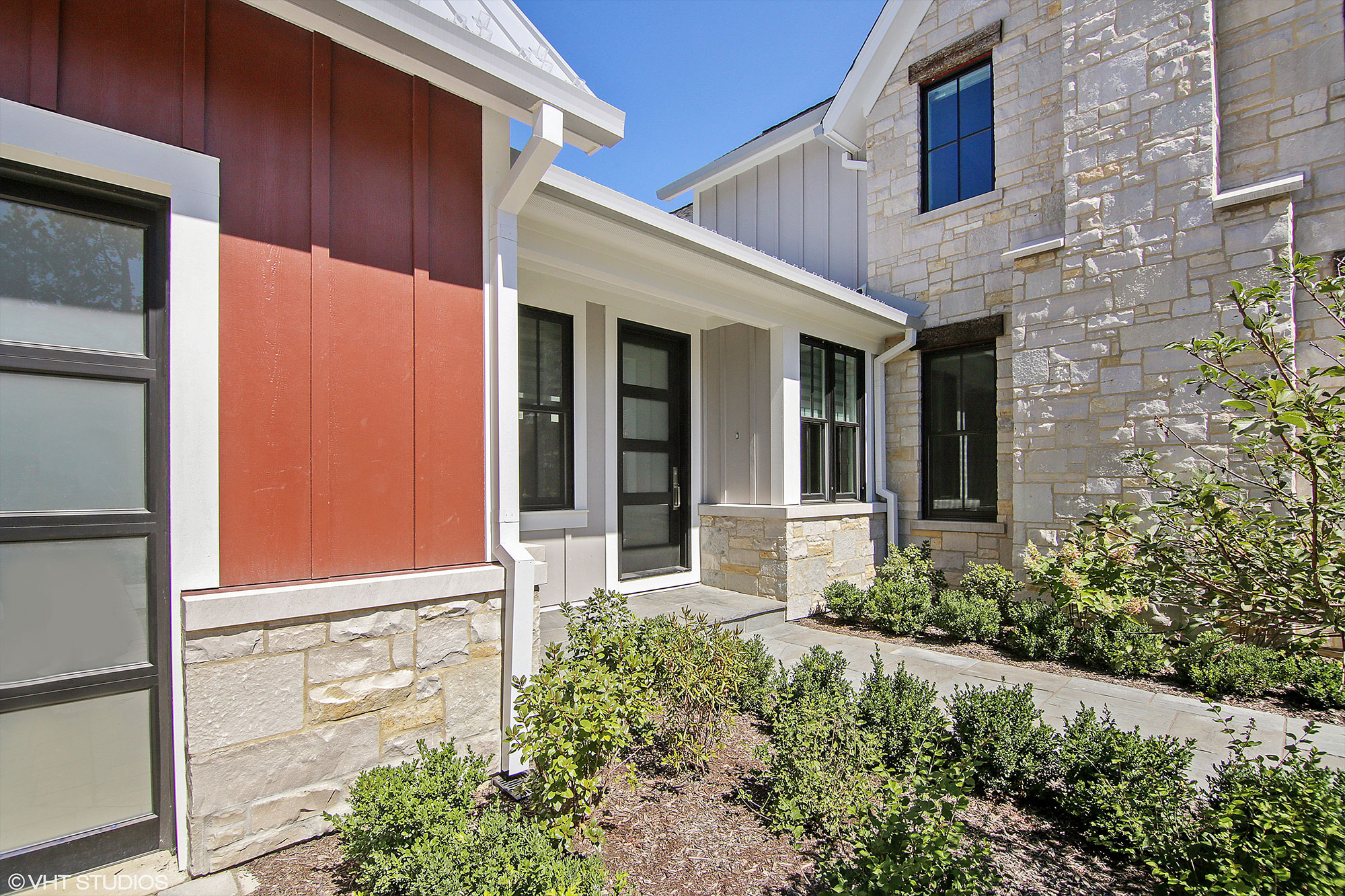 Custom Wood Front Entry Doors | Custom Single Mudroom Entry Door - Modern Style DB-EMD-823 CST - Glenview Doors - Custom Doors in Chicago