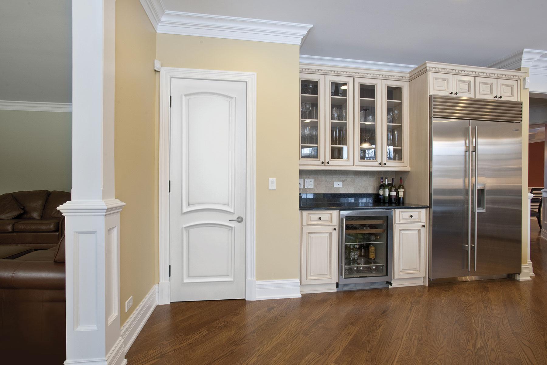 Custom Wood Interior Doors | MDF Kitchen Door Paint Grade Custom Interior MDF Doors   - Glenview Doors - Custom Doors in Chicago