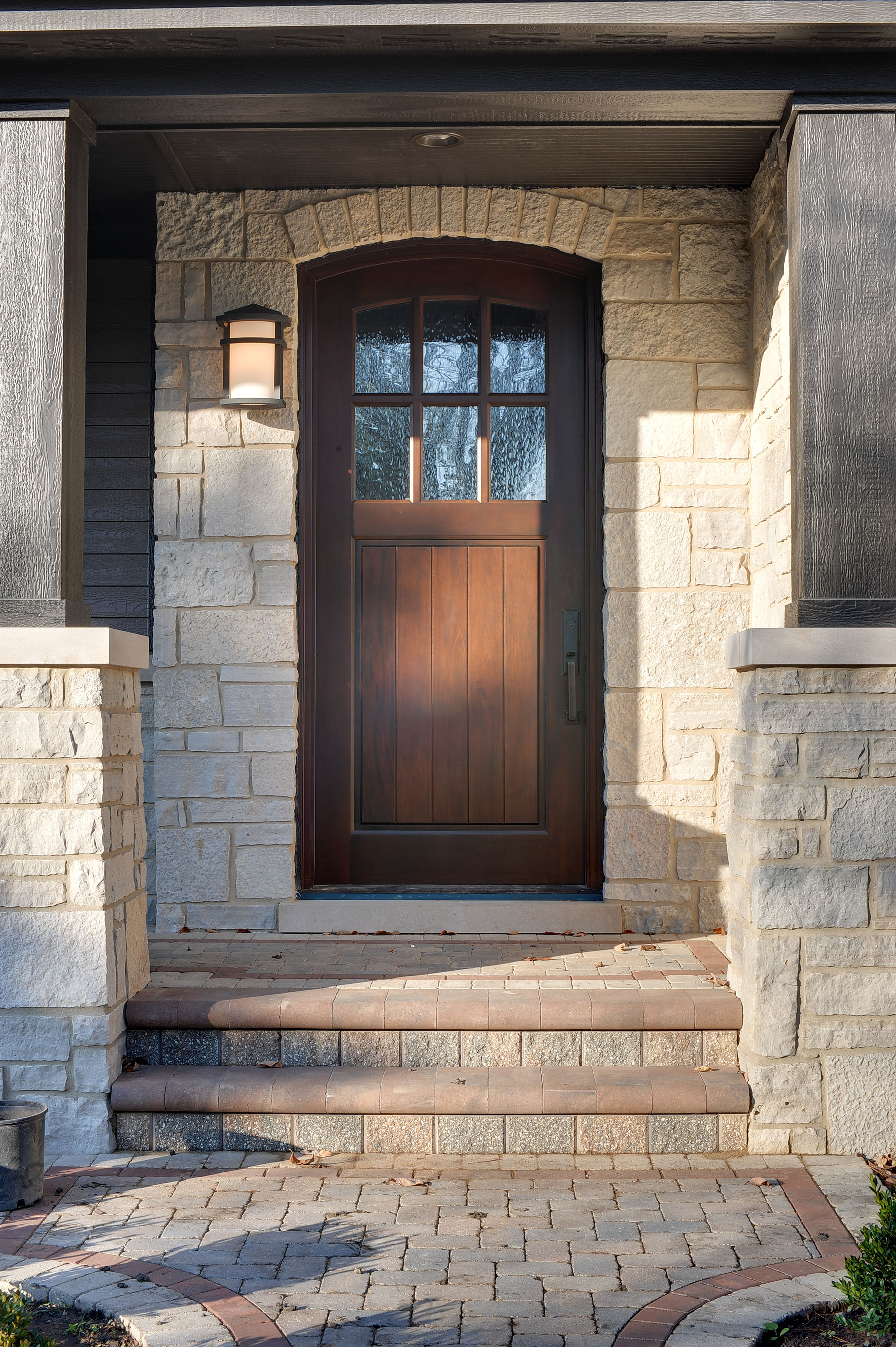 Custom Wood Front Entry Doors | Classic Collection Solid Wood Front Entry Door  - Glenview Doors - Custom Doors in Chicago