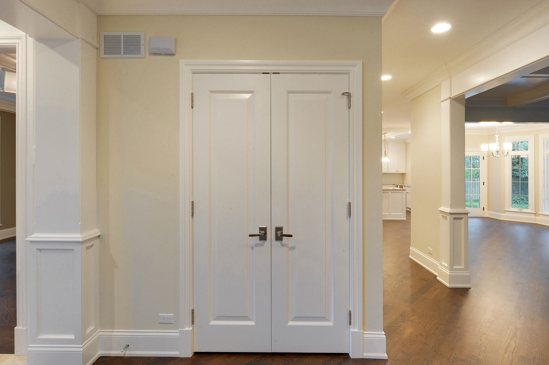 Genial Custom Wood Interior Doors. Closet Double Door