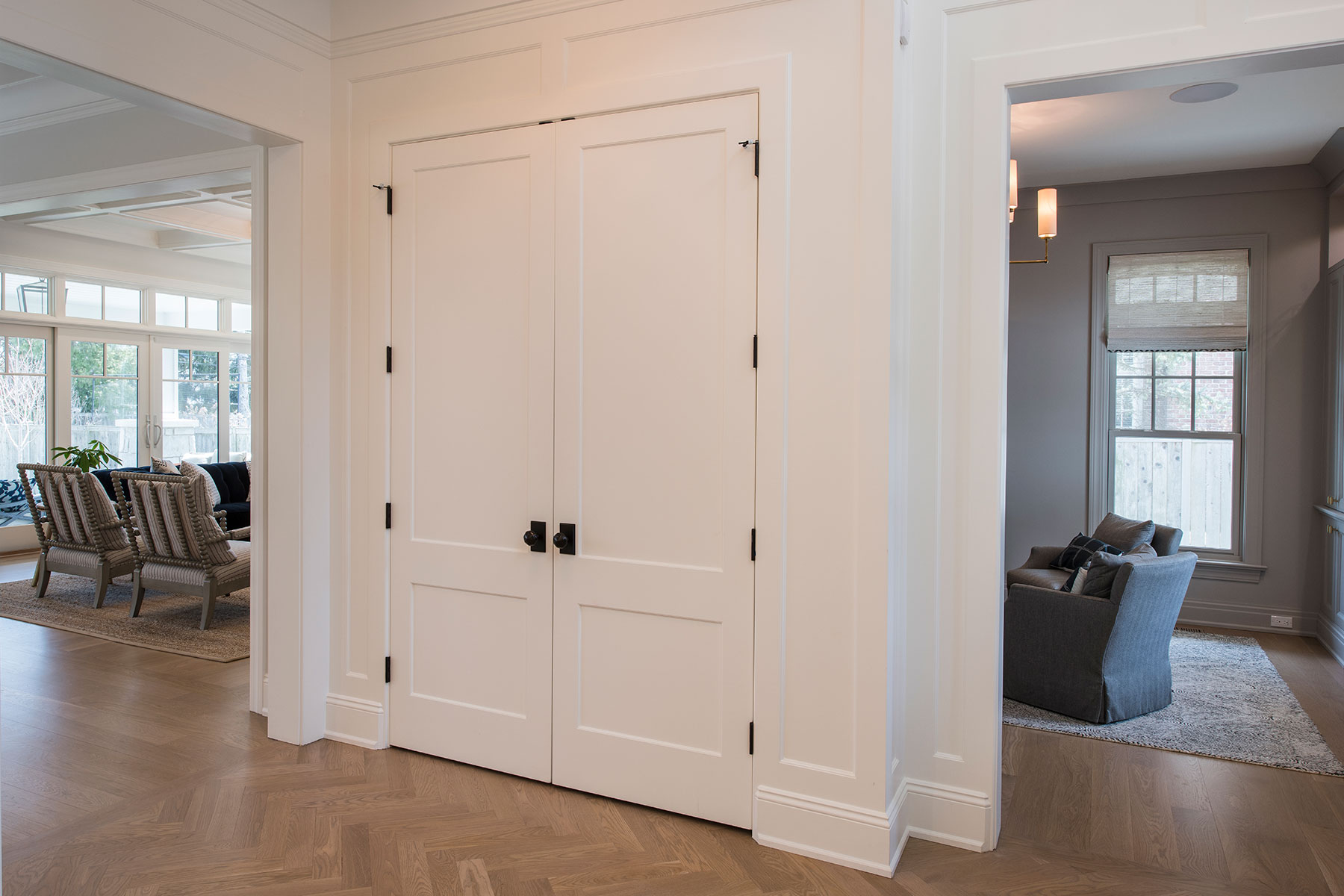 Custom Wood Interior Doors | Paint Grade Custom Interior Double Doors, Solid  - Glenview Doors - Custom Doors in Chicago
